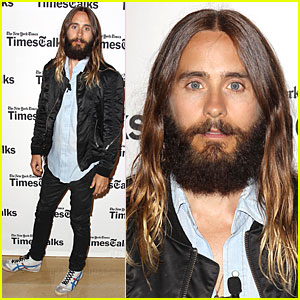 Jared Leto Opens Up About His Life During TimesTalks - Watch Now!