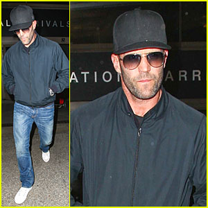 Jason Statham & Sylvester Stallone Sing Ariana Grande's 'Problem' - Watch Funny Clip Now!