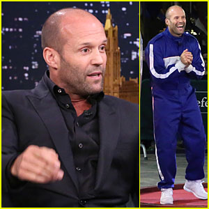 Jason Statham Wins Hamster Ball Race Against Jimmy Fallon - Watch Now!