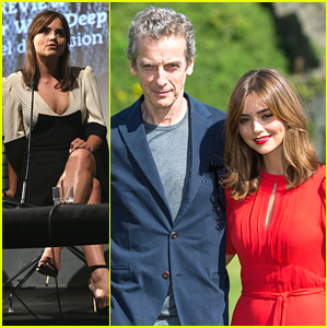 Peter Capaldi & Jenna Coleman Premiere 'Doctor Who' In Cardiff & London