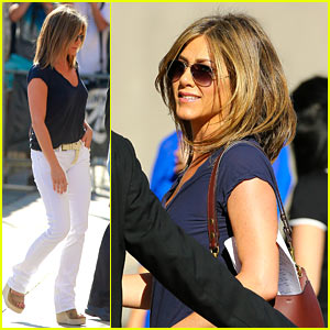 Jennifer Aniston Hair August 2014