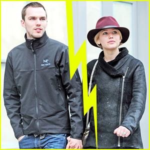 Jennifer Lawrence & Nicholas Hoult Split?