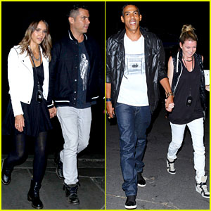 Jessica Alba & Ellen Pompeo Have Couples Night Out at Beyonce & Jay Z Concert