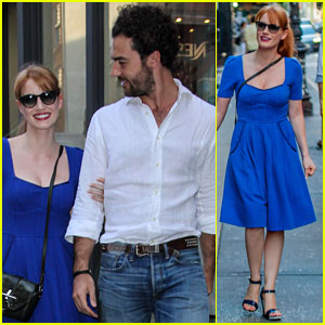 Jessica Chastain Stays Close to Boyfriend After California Vacation!