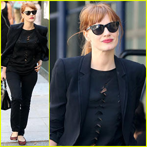 Jessica Chastain Gives Her Ideas for a Possible 'Mama' Sequel!