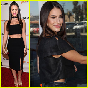 Jessica Lowndes Shows Some Skin at 'The Prince' Hollywood