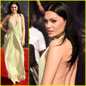 Jessie J Goes Vintage & Backless at the MTV VMAs 2014