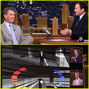 Jimmy Fallon Challenges Pierce Brosnan to His James Bond GoldenEye Video Game & Wins - Watch the Hilarious Video!