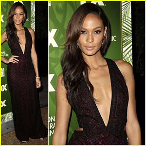 Joan Smalls Looks Super Fierce at Fox's Emmys After Party