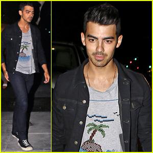 Joe Jonas Steps Out for Low-Key Dinner After Split with Blanda Eggenschwiler