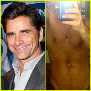 John Stamos Goes Shirtless at 51 in Sexy New Selfie!