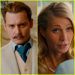Johnny Depp & Gwyneth Paltrow Star in First Trailer for 'Mortdecai' - Watch Now!