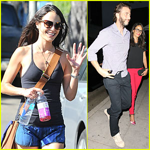Jordana Brewster Is Red Hot For Romantic Date With Husband Andrew Form