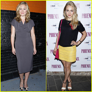 Julia Stiles Celebrates 'Phoenix' Opening Night with AnnaSophia Robb