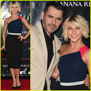Julianne Hough Gets Colorful at Roland Mouret for Banana Republic Collection Launch