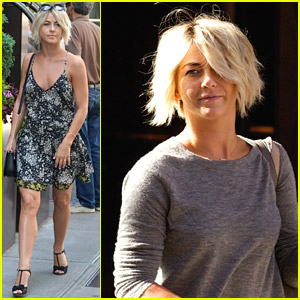 Julianne Hough Takes On Summer In Style In New York City