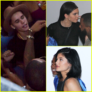 Justin Bieber, Kendall & Kylie Jenner Attend VMA Party Before Suge Knight 1OAK Shooting