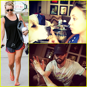 Kaley Cuoco & Ryan Sweeting Have So Much Love for Their Pitbull Norman