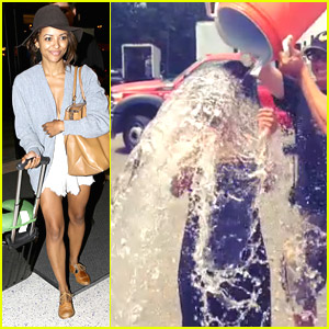 Kat Graham Completes Jared Eng's ALS Ice Bucket Challenge Nomination - Watch Here!