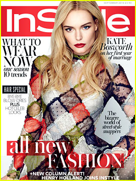 Kate Bosworth Talks Nurturing Her Step-Daughter in 'InStyle UK'