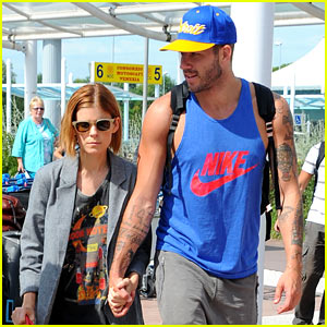 Kate Mara Holds Hands with BFF Johnny Wujek After Split News
