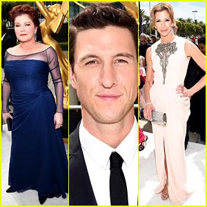 Kate Mulgrew & 'Orange Is the New Black' Stars Walk Emmys 2014 Red Carpet