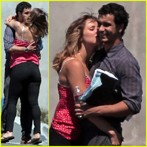 Katharine McPhee Spotted Kissing 'Scorpion' Co-star Elyes Gabel