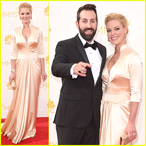 Katherine Heigl & Josh Kelley Look Like an Old Hollywood Couple at Emmys 2014