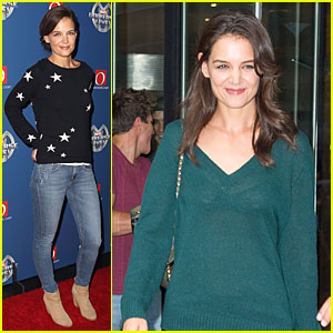 Katie Holmes Brings Serious Star Power to Marvel Universe Live!
