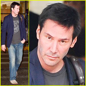 Keanu Reeves Shaves His Beard & Rocks Clean-Shaven Face!