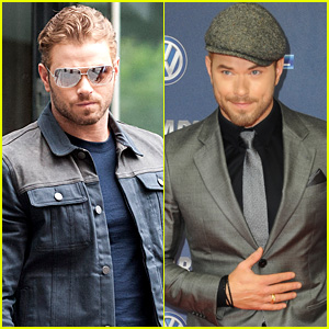 Kellan Lutz Brings 'The Expendables 3' to Fans in Germany