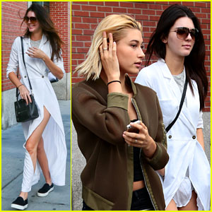 Kendall Jenner & Hailey Baldwin Have a Girls Day in NYC!
