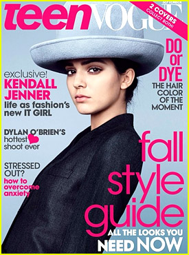 Kendall Jenner Scores TWO Covers for 'Teen Vogue' September 2014 Issue