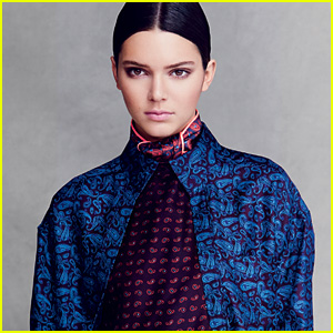 Kendall Jenner Takes Scarves Really Seriously in 'Vogue'