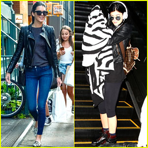 Kendall Jenner is All Smiles in NYC While Kylie Jets Off to L.A.