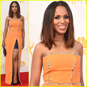 Kerry Washington Is Prada Pretty on Emmys 2014 Red Carpet!