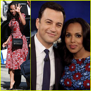 Kerry Washington & Jimmy Kimmel Bond Over Their Newborn Baby Girls!