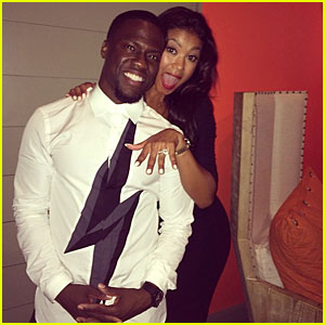 Kevin Hart & Girlfriend Eniko Parrish Are Engaged!