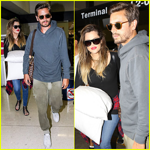 Khloe Kardashian Touches Down at LAX with Scott Disick After Hosting Together at Foxwoods!