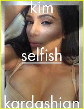 Kim Kardashian Releasing 352-Page Selfie Book Titled 'Selfish,' Due Out Next Year