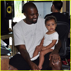 Kim Kardashian Posts Adorable New Pic of Kanye West & North