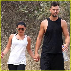 Lea Michele & Boyfriend Matthew Paetz Hold Hands on a Hike!