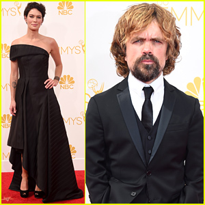 'Game of Thrones' Nominees Lena Headey & Peter Dinklage Arrive at the Emmys 2014!