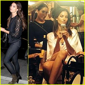 Lily Aldridge Wraps Filming for the Victoria's Secret Fashion Show 2014!