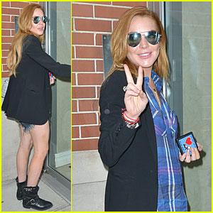 Lindsay Lohan Didn't Read James Franco's Short Story 'Bungalow 89'