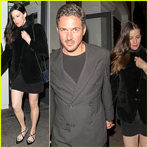 Liv Tyler & David Beckham's Best Friend Dave Gardner Hold Hands in London!