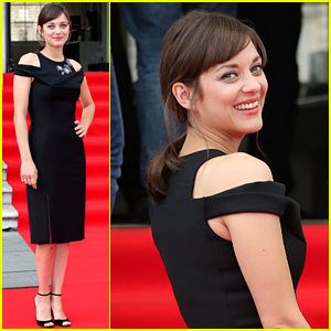 Marion Cotillard Stuns in a Black Gown at 'Two Days, One Night' Premiere!