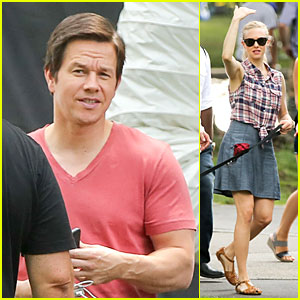 Mark Wahlberg & Amanda Seyfried Wrap First Week of 'Ted 2' Filming