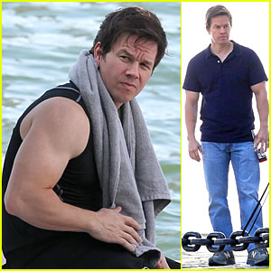 Mark Wahlberg's Muscles Are On Full Display For 'Ted 2'