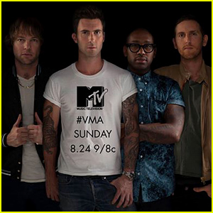 Maroon 5 Performing at the MTV VMAs 2014 For the First Time Ever!